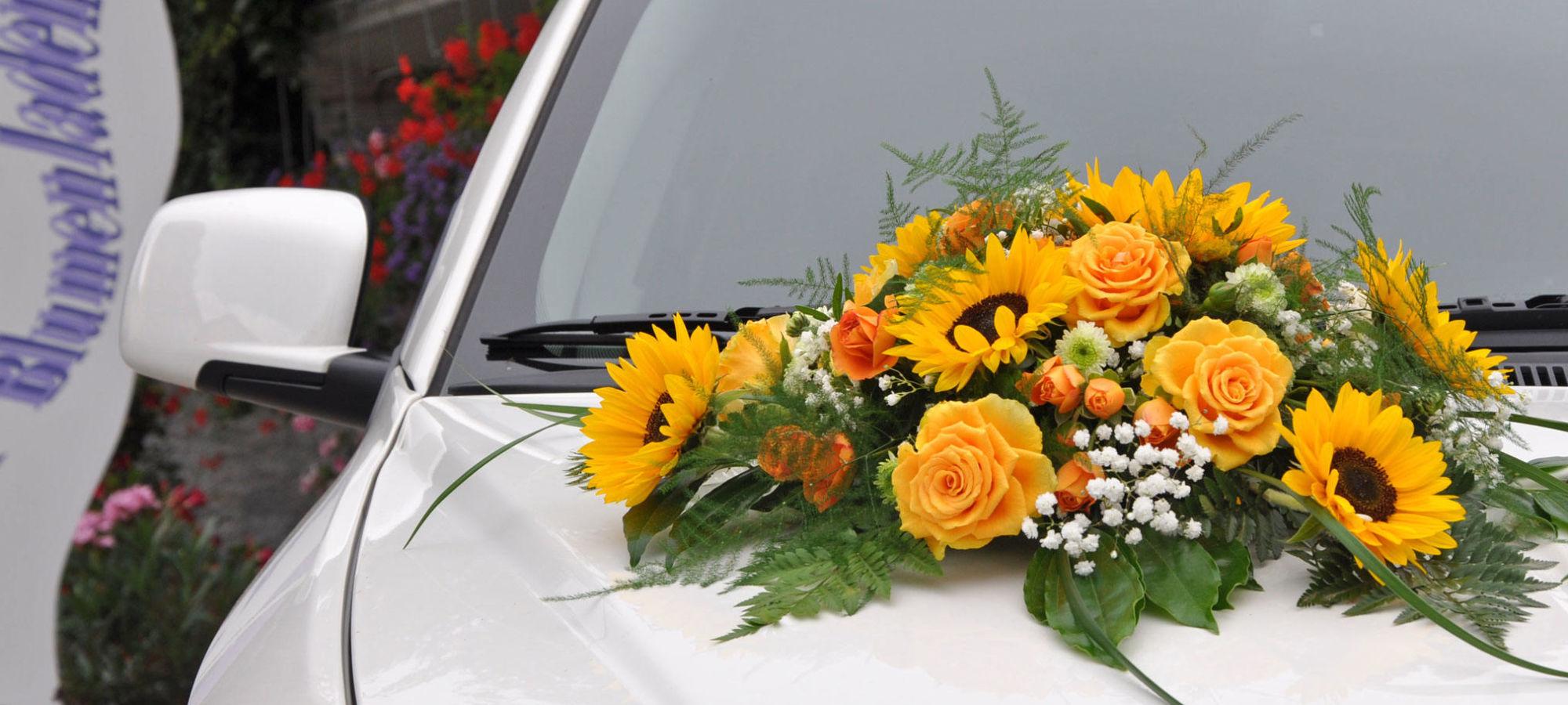 STRUB Hochzeit Autoschmuck