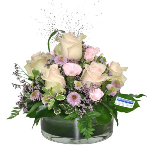 STRUB Blumengesteck rosa