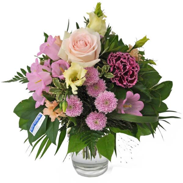 STRUB Blumenstrauss rosa 190717-40