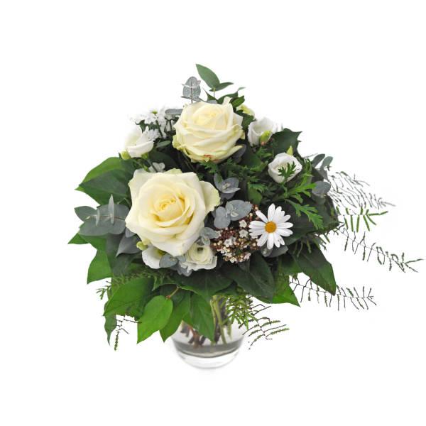 STRUB Blumenstrauss weiss 020114-07