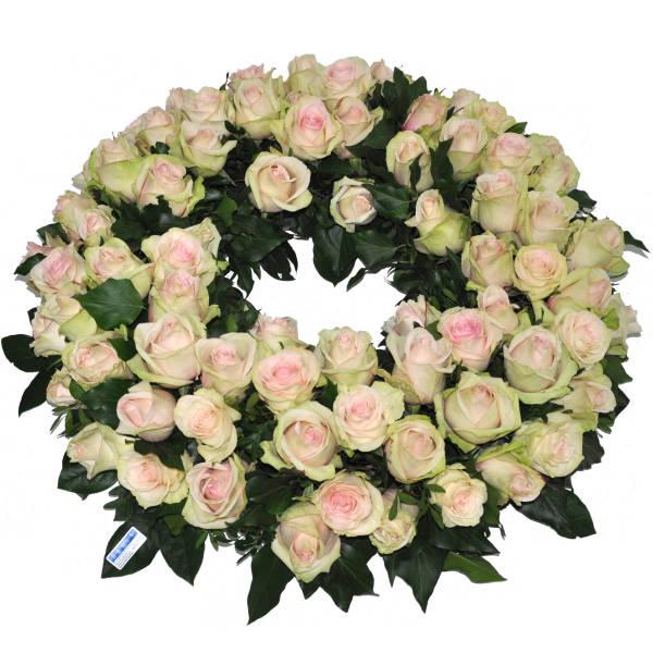 STRUB Rundkranz rose