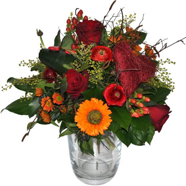 STRUB Blumenstrauss mit Herz